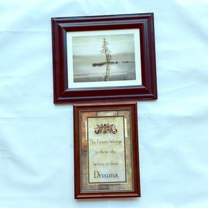 🌵lot of 2 Wall decor frames